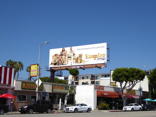 Empire season 2 billboard