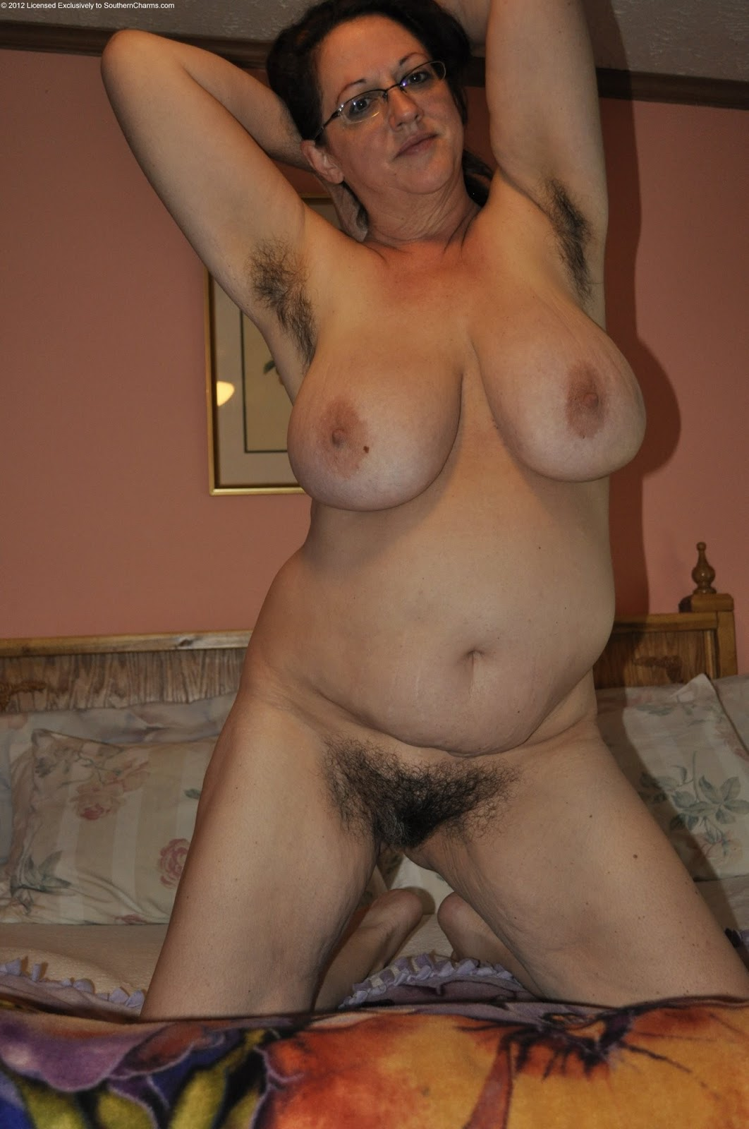 Hairy Mature Solo