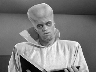 Alien from Twilight Zone Episode To Serve Man