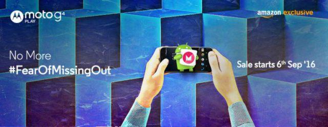 Moto G4 Play Handset