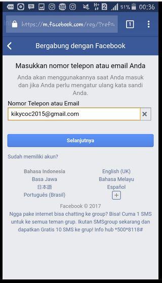 CARA MEMBUAT AKUN FACEBOOK - DAFTAR FB TERBARU | Download