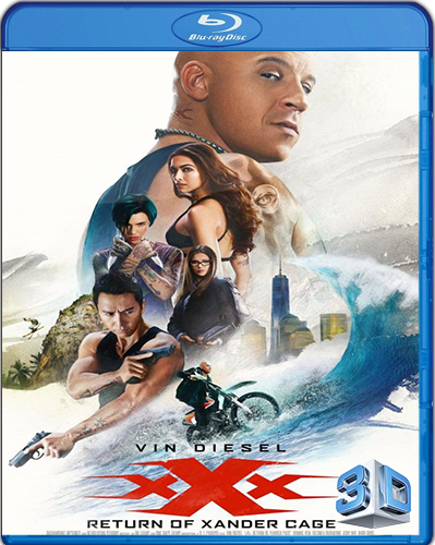 xXx: Return of Xander Cage [2017] [BD25] [Latino] [3D]