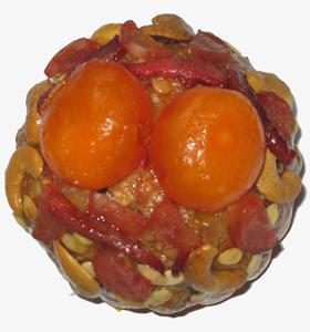 Bánh Trung thu Đồng Khánh Ngũ Nhân 2 trứng 210gr