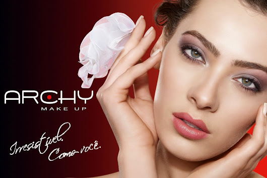 (✿ Beleza & Estilo Make Up ✿: Archy Make UP ,,Amei