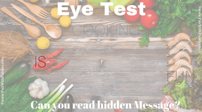 Answer of Hidden Message Cooking Game Picture Puzzle