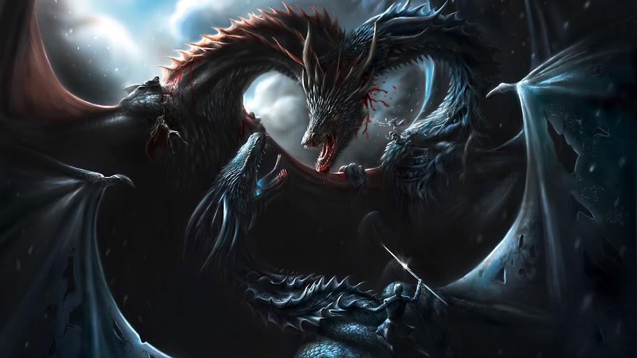 Game Of Thrones Dragons Battle 4k Wallpaper 73