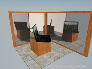 How to Create a Mirror In Vray SketchUp