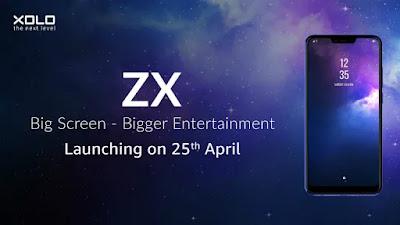 Xolo ZX ने लॉन्च किया अपना नया बेस्ट स्मार्टफोन, 16 MP सेल्फी कैमरा