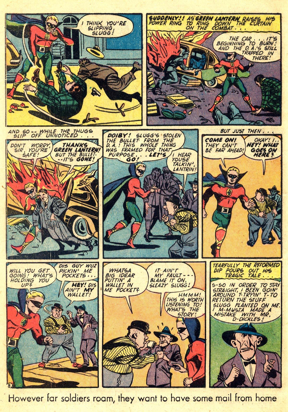 Read online All-American Comics (1939) comic -  Issue #60 - 10