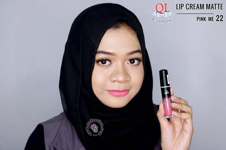 QL Lip Cream Matte 22 Pink Me