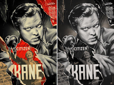 Citizen Kane Screen Print by Martin Ansin x Mad Duck Posters