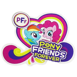 MLP Pony Friends Forever Brushable Figures
