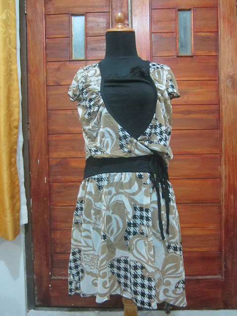 Dress Brown Collection Ukuran S ( DR 1 )