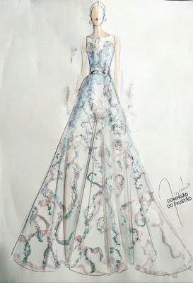 Dandara Mariana usou vestido com 34 mil pedras bordadas em vestido de valsa na final