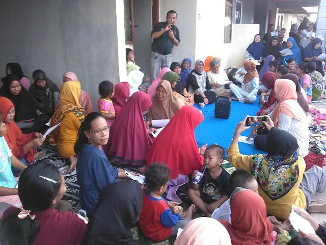 Masyarakat Lawang Kidul Dialog dengan Paslon Shinta-Suryadi