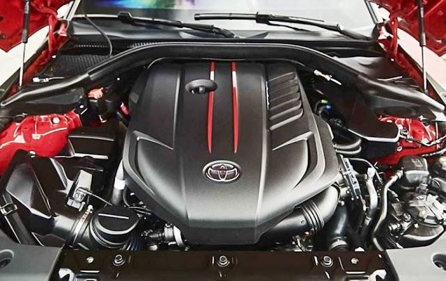 toyota supra 2020 engine renaissance red 2.0
