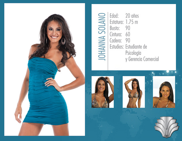 Miss Universe 2011 contestant - Costa Rica ~ Lebanese Pageant