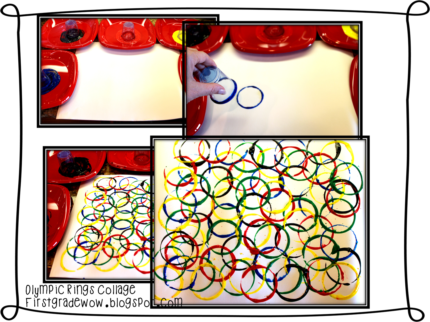 First Grade Wow Winter Olympics