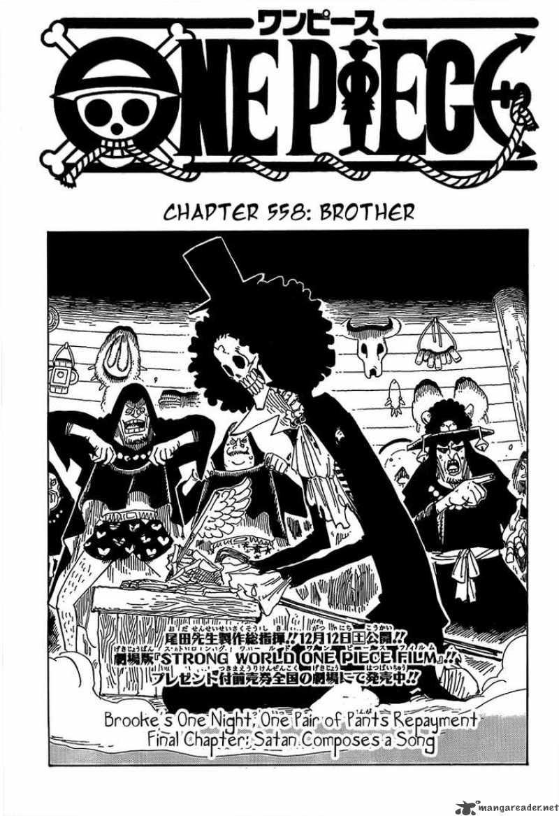 One Piece 558