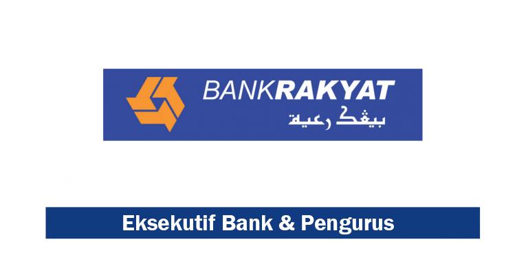 Jawatan Kosong Terkini di Bank Rakyat