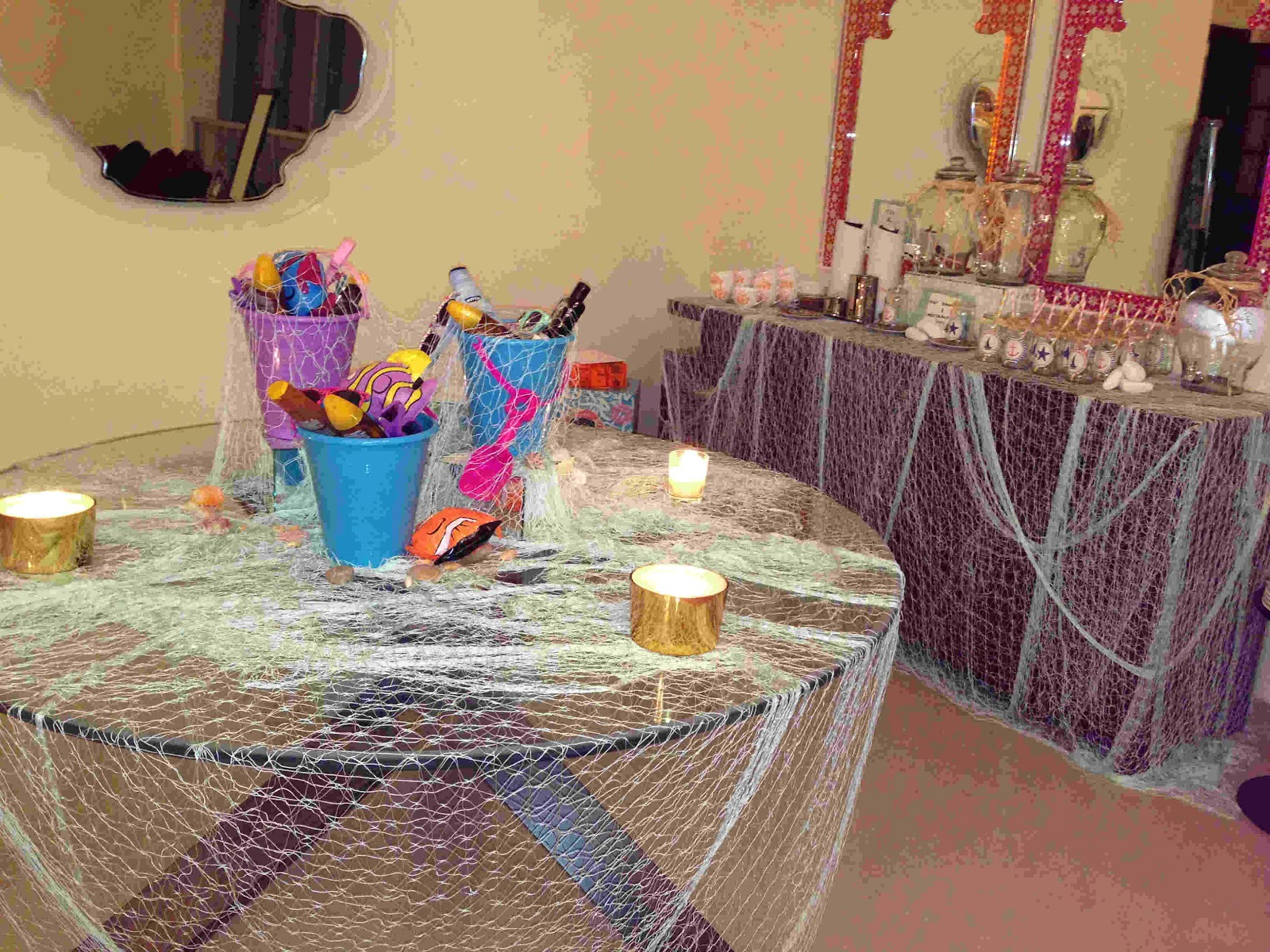 My Small Obsessions: An Indoor Themed Beach Party