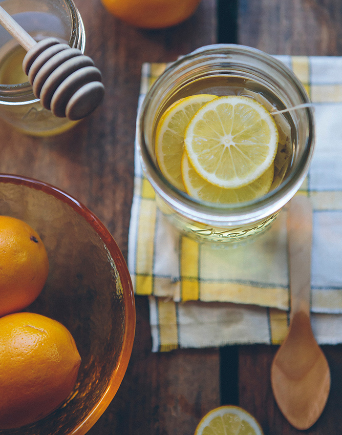 Honey and Lemon Drink Natural Remedy for Colds and Coughs