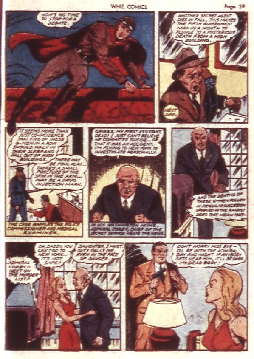 WHIZ Comics issue 23 - Page 41