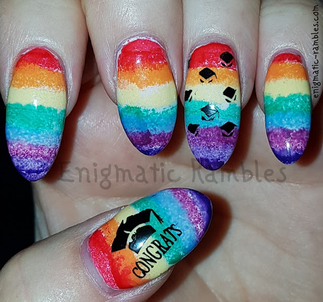 Graduation-Rainbow-Nails