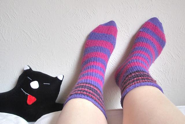Breien: mijn eerste paar warme sokken