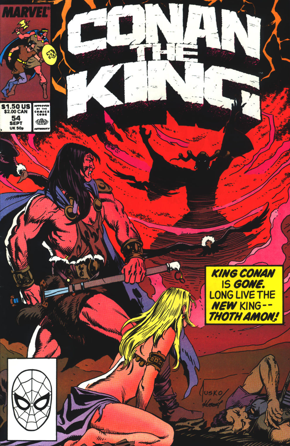 Conan the King 54 Page 1
