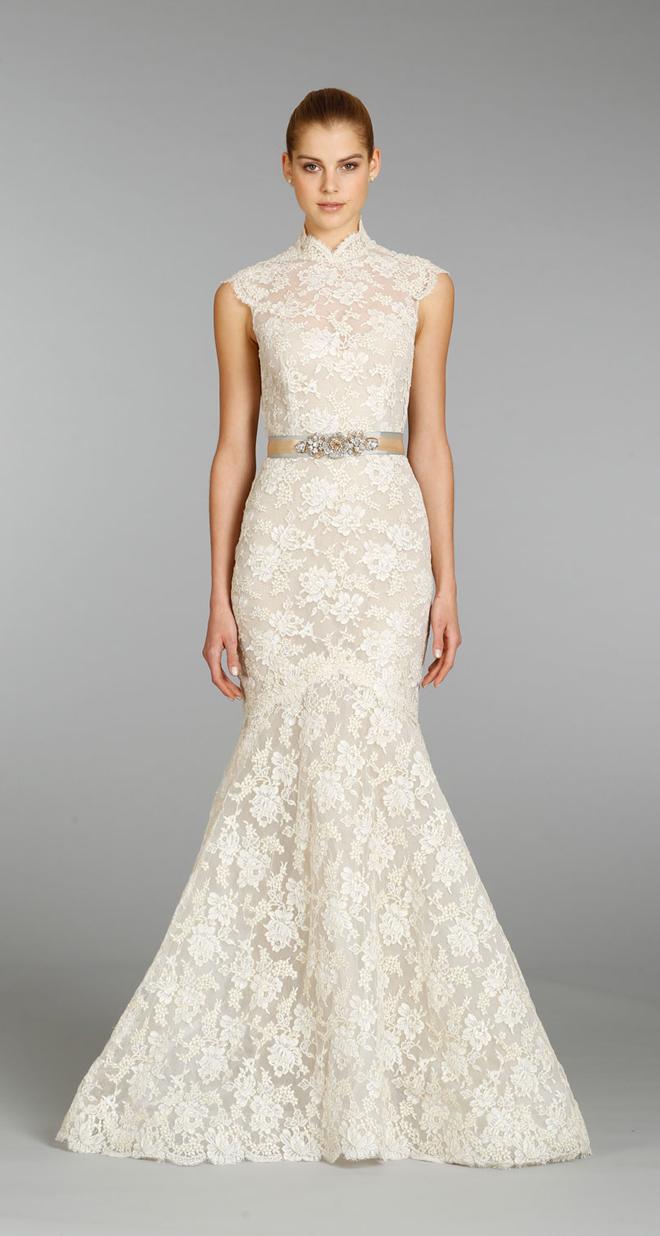 Lazaro Fall 2013 Bridal Gown Collection - Belle The Magazine  Lazaro Fall 201...