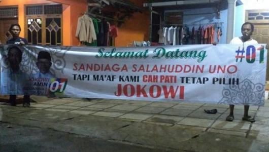 Kampanye di Pati, Warga Bilang ke Sandiaga Uno Titip Salam untuk Jokowi