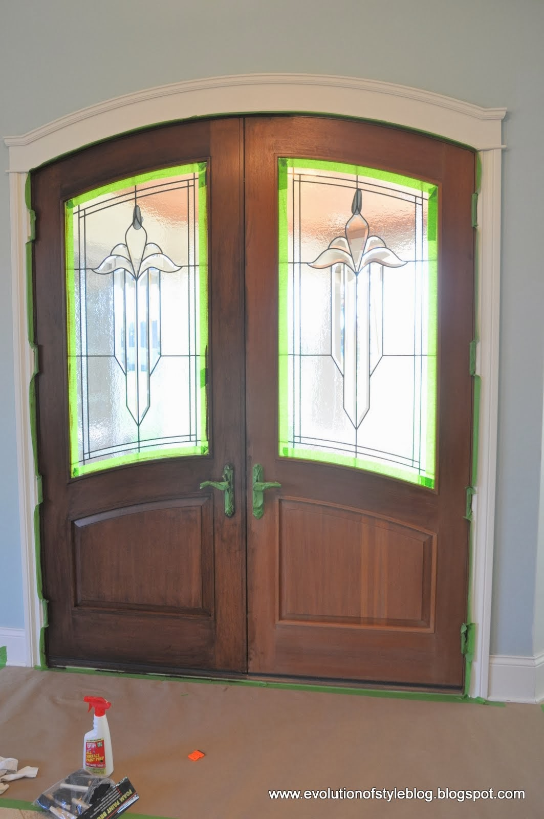Front Doors: Stain Without Pain
