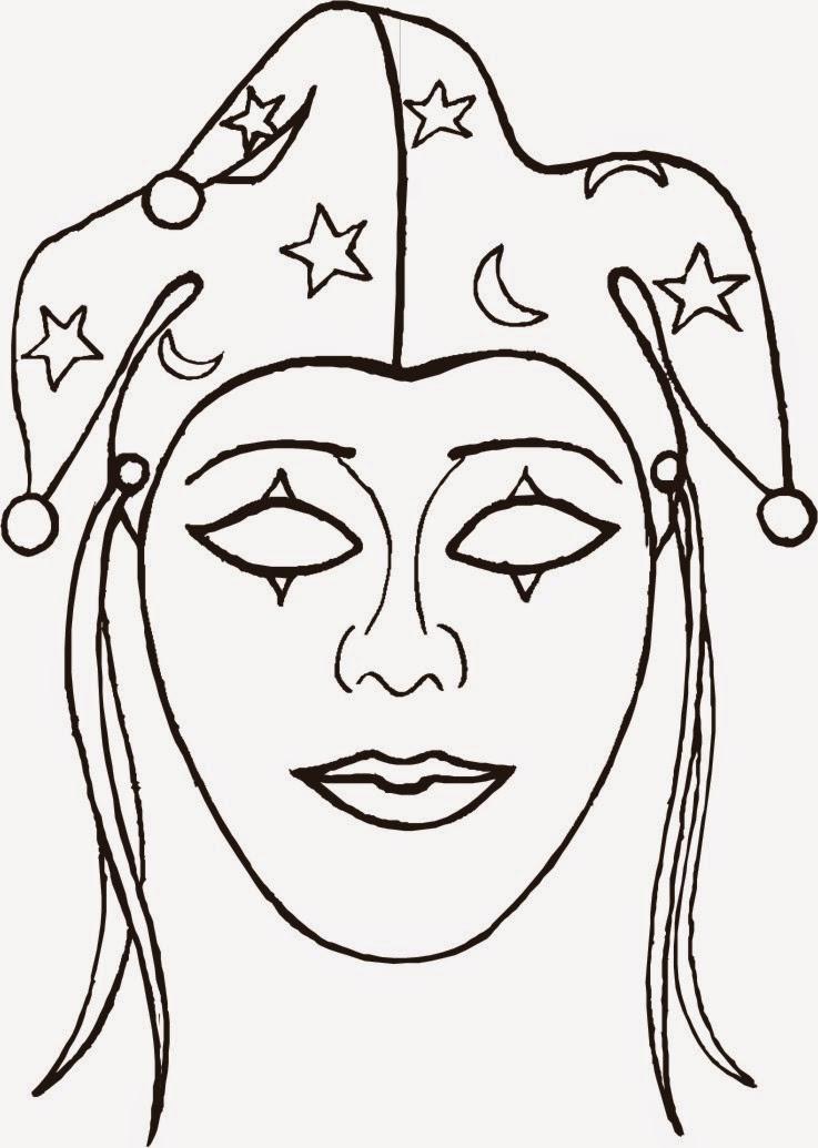 Máscaras De Payasos Para Colorear Para Imprimir Gratis Ideas Y