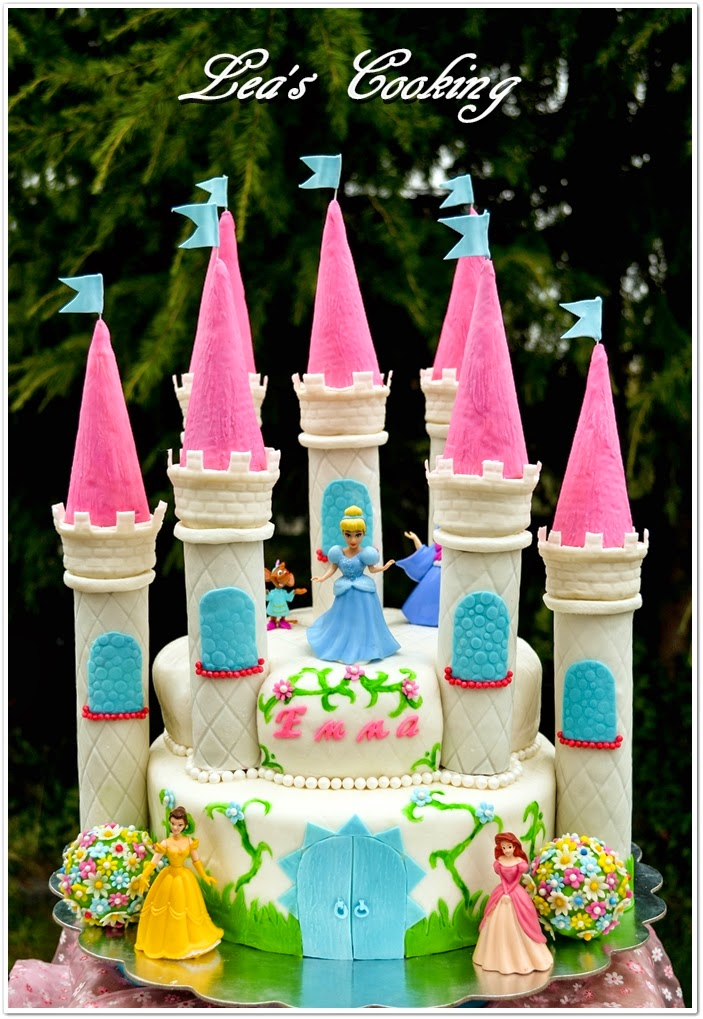 Castle Cake Detailed Tutorial