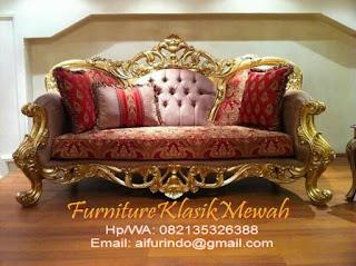 jual sofa klasik jati ukir jepara gold classic luxury,toko mebel jati klasik,toko jati-furniture klasik mewah,sofa 3 seater klasik warna emas