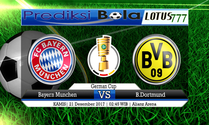 PREDIKSI SKOR Bayern Munchen vs B.Dortmund 21 Desember 2017