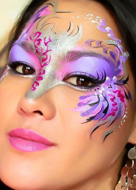 Mardi Gras Mask Tutorial