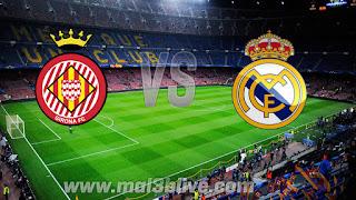 مشاهدة مباراة ريال مدريد وجيرونا بث مباشر بتاريخ اليوم 18-03-2018 الدوري الاسباني