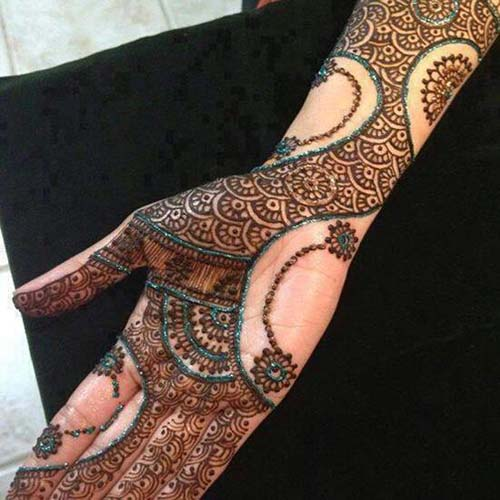 Mehndi Tattoo For Girls : New mehndi designs for girls women fashion point