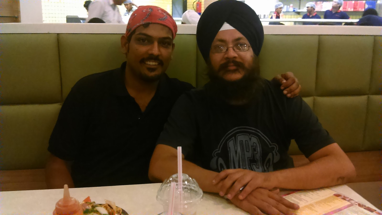 Atishay Jain with Jasmeet