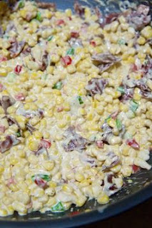 Creamy Confetti Corn with Bacon: Savory Sweet and Satisfying