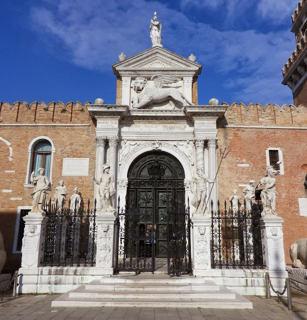 Land entrance (Porta di Terra) of the Arsenal, Venice