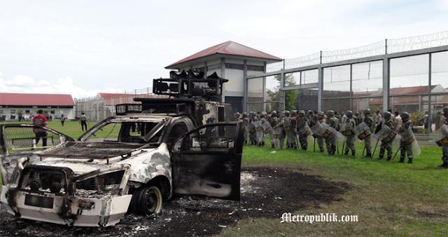 Napi Kelas II A Aceh Melakukan Pemberontakan Di dalam Lapas