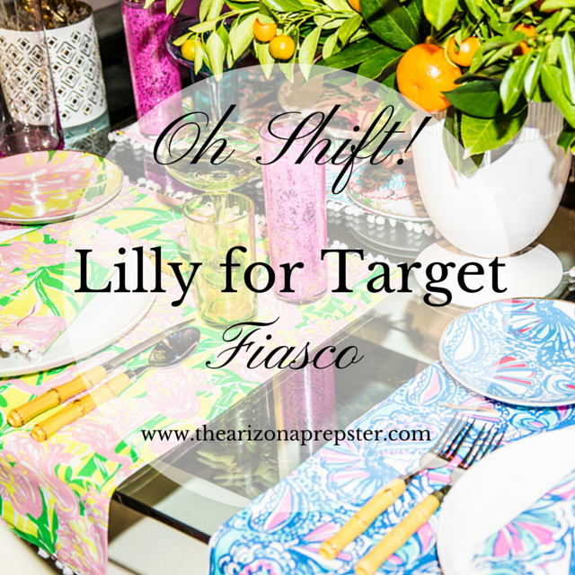 Oh Shift! Lilly for Target Fiasco!