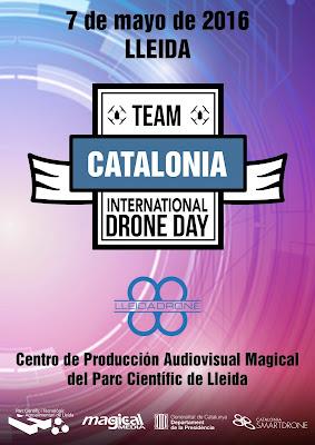 Y el próximo sábado 7 llega el #internationaldroneday en el Magical del Parc Científic de #Lleida