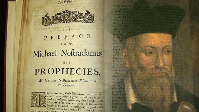 Ramalan Nostradamus: Dari Gempa Hingga Perang Dunia III