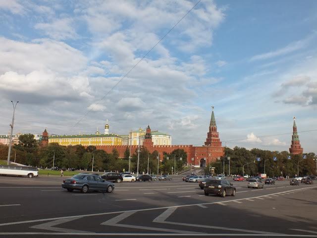 Murallas rojas del Kremlin
