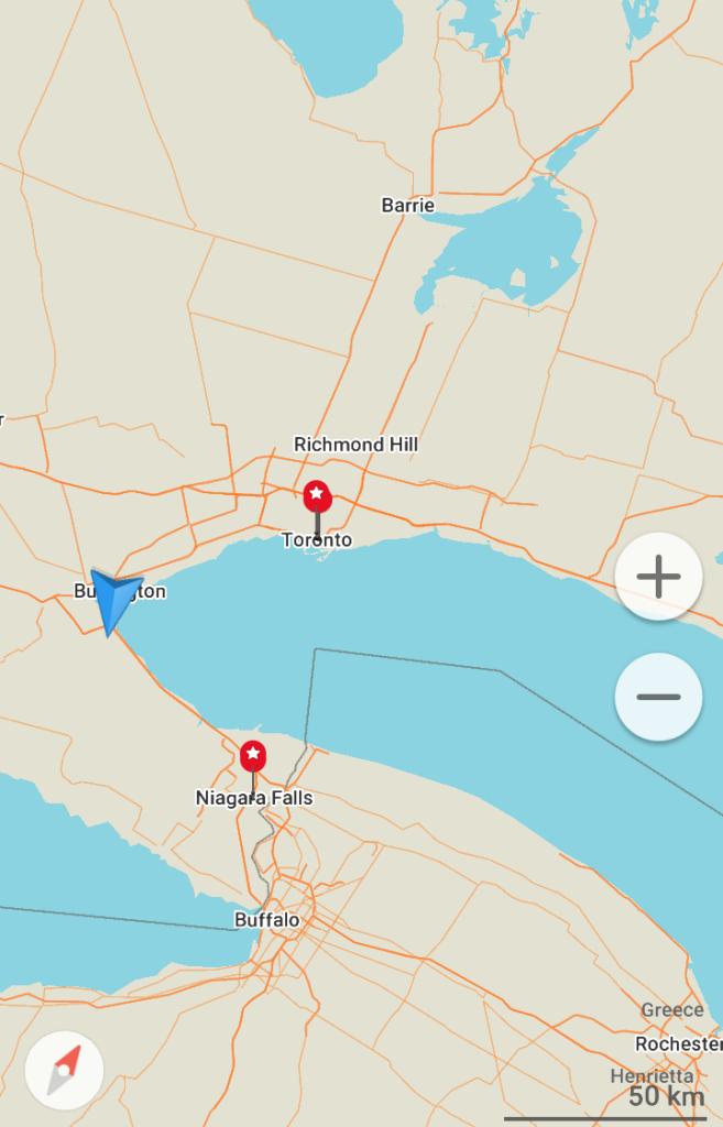 Como chegar a Niagara Falls a partir de Toronto