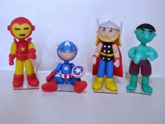 homem de ferro, capitão américa, thor e hulk
